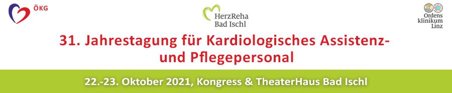 31. Jahrestagung für Kardiologisches Assistenz- und Pflegepersonal