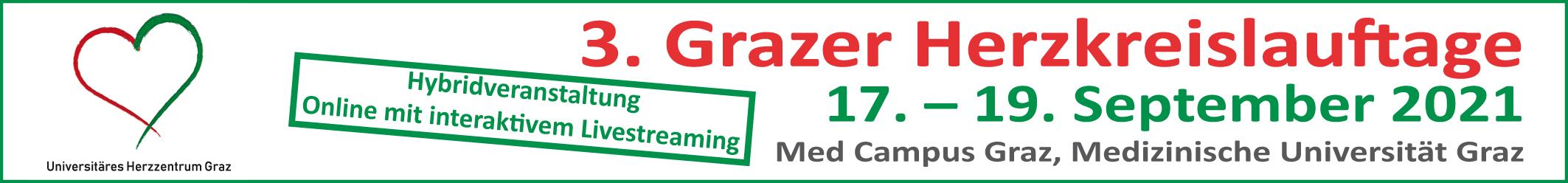 3. Grazer Herzkreislauftage 2021