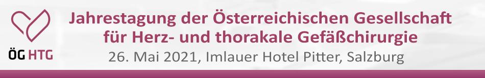 Jahrestagung der Österreichischen Gesellschaft für Herz- und thorakale Gefäßchirurgie (ÖGHTG)